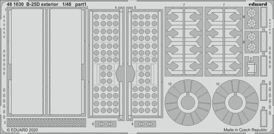 B-25D exterior 1/48  - 1