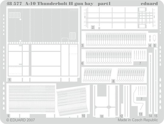 A-10 gun bay 1/48  - 1