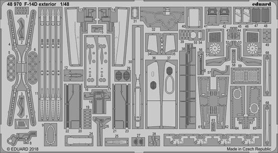 F-14D exterior 1/48