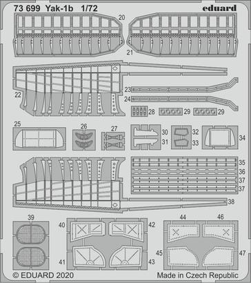Yak-1b 1/72  - 1