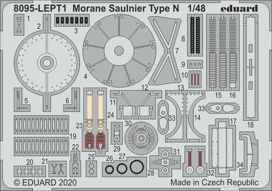 Morane Saulnier type N PE-set 1/48