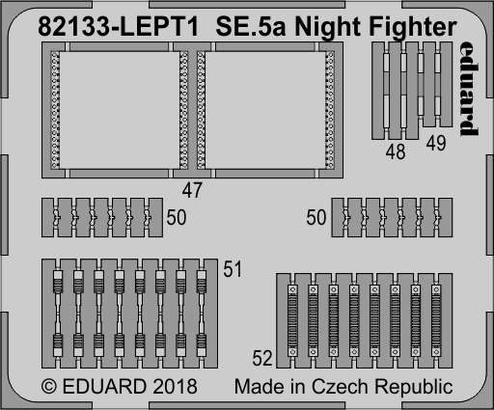 SE.5a Nightfighter PE-set 1/48  - 1