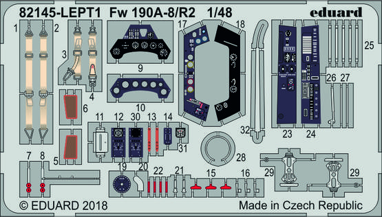 Fw 190A-8/R2 LEPT 1/48