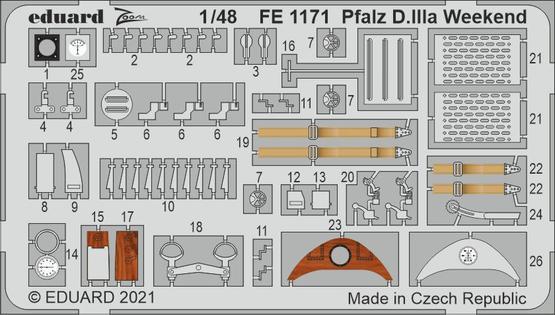 Pfalz D.IIIa Weekend 1/48