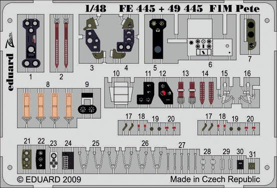 F1M Pete S.A. 1/48  - 1
