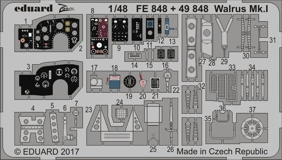 Walrus Mk.I interior 1/48  - 1