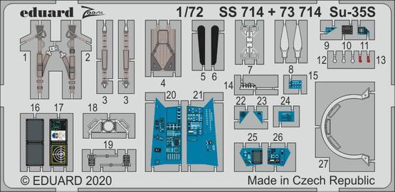 Su-35S 1/72  - 1
