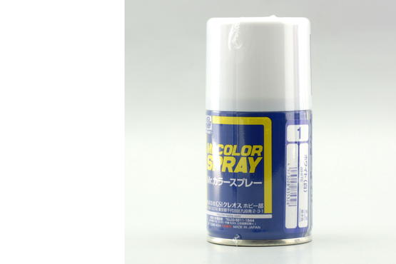 Mr.Color - white - spray 40ml