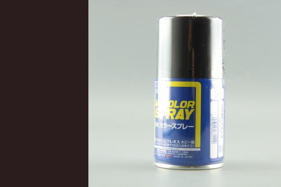 Mr.Color - flat black - spray 40ml