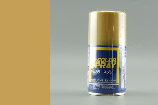 Mr.Color - pískově žlutá - sprej 40ml