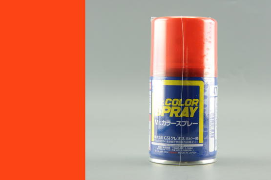 Mr.Color - clear red - spray 40ml