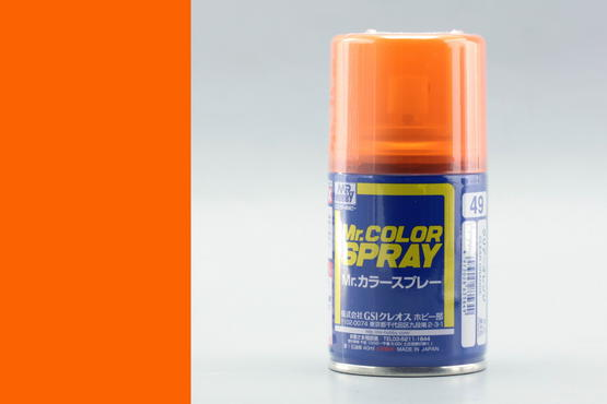 Mr.Color - clear orange - sprey 40ml