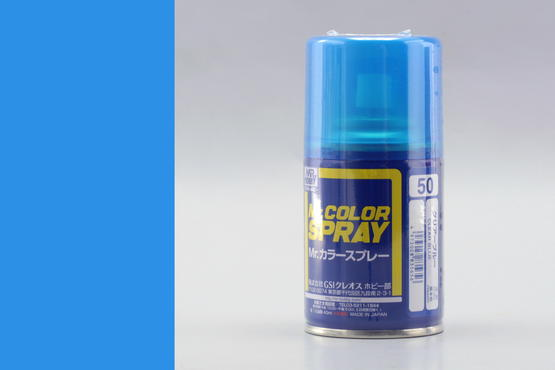 Mr.Color - clear blue - sprey 40ml