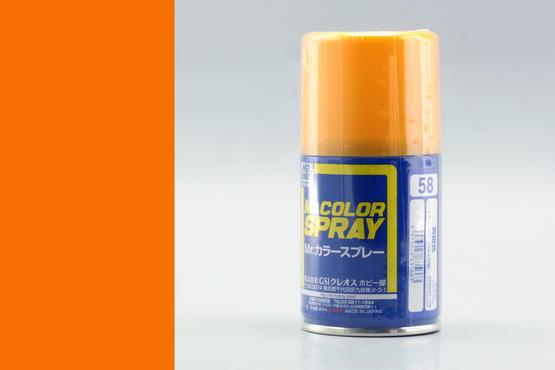 Mr.Color - oranžově žlutá - sprej 40ml