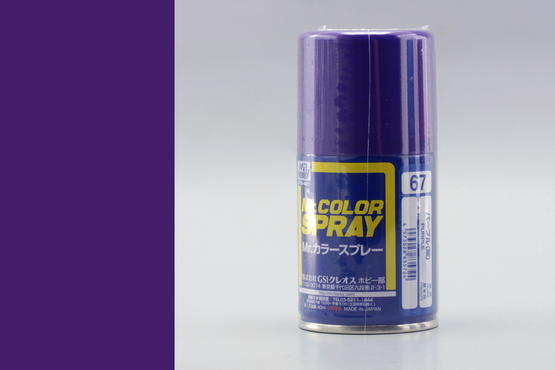 Mr.Color - purple - spray 40ml