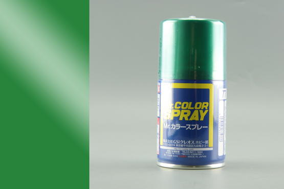 Mr.Color - metallic green - spray 40ml