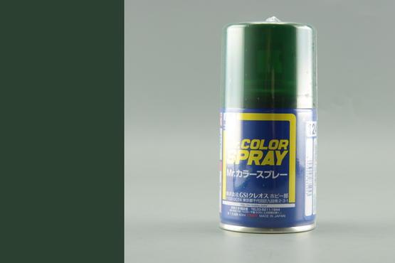 Mr.Color - tmavě zelená - sprej 40ml