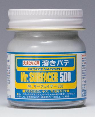 Mr.Surfacer 500 - stříkací tmel 40ml