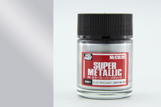 Mr.Color Super Metallic - Super Fine Silver  - 1