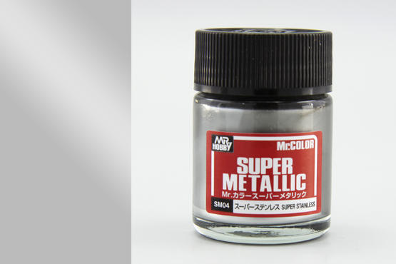 Mr.Color Super Metallic - super stainless  - 1