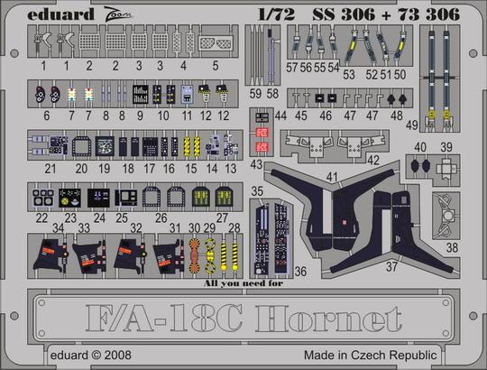 F/A-18C S.A. 1/72