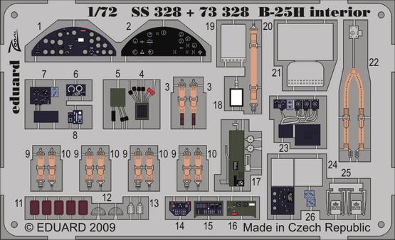 B-25H interior S.A. 1/72