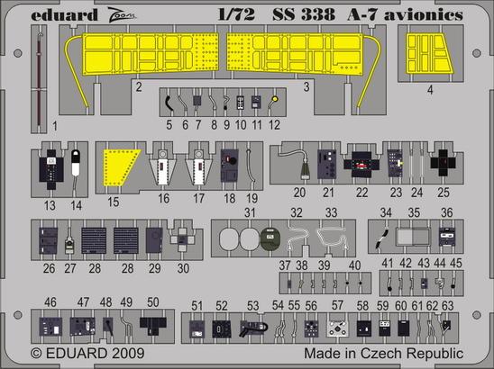 A-7 avionics 1/72