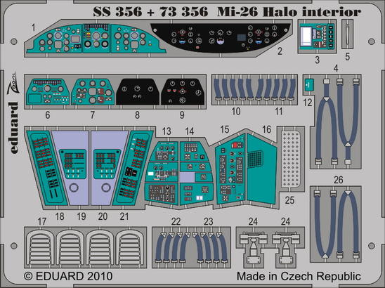 Mi-26 Halo interior 1/72