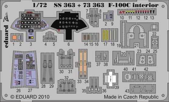 F-100C interior S.A. 1/72