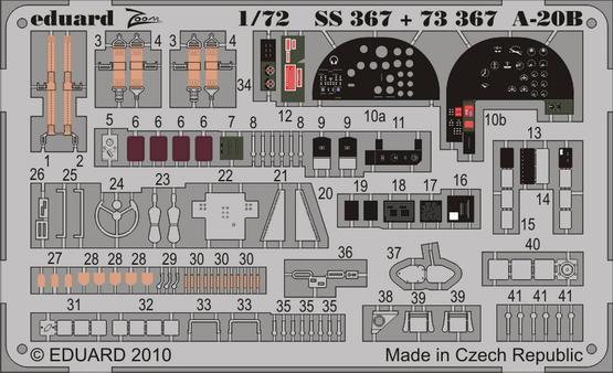 A-20B  S.A. 1/72
