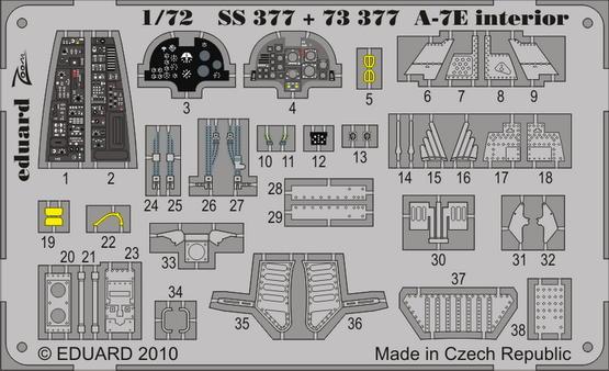 A-7E interior S.A. 1/72