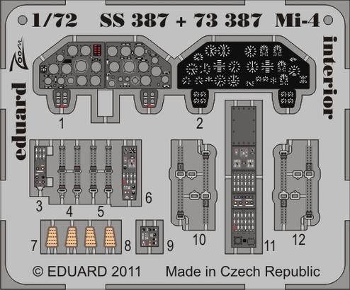 Mi-4 interior S.A. 1/72