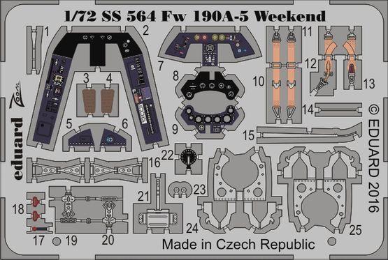 Fw 190A-5 Weekend 1/72