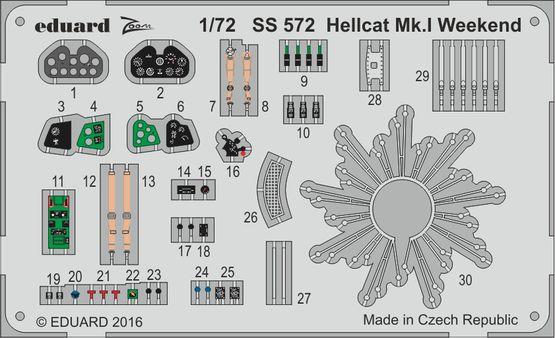 Hellcat Mk.I  Weekend 1/72