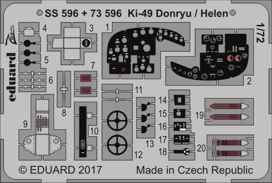 Ki-49 Donryu / Helen 1/72  - 1