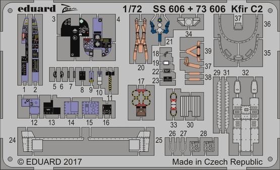 Kfir C2 1/72  - 1