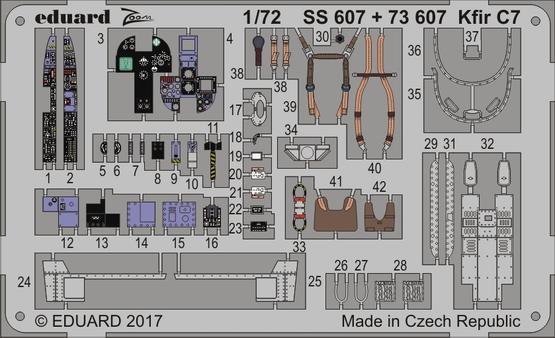 Kfir C7 1/72  - 1