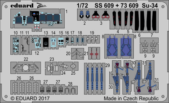 Su-34 1/72  - 1