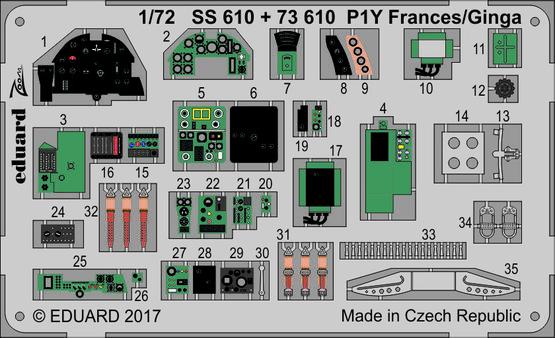 P1Y Frances/Ginga 1/72  - 1