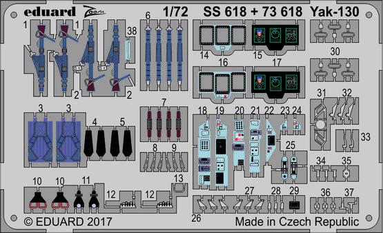 Yak-130 1/72  - 1