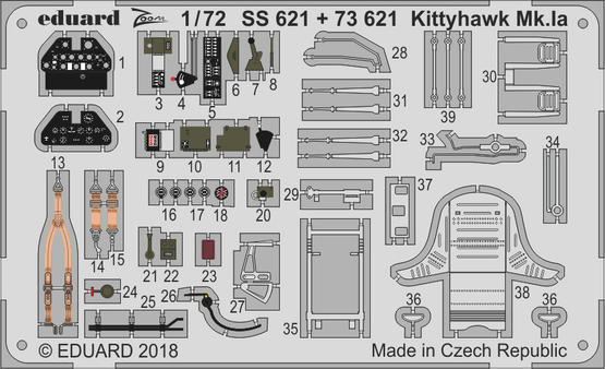 Kittyhawk Mk.Ia 1/72  - 1