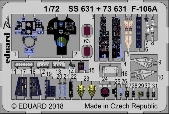 F-106A 1/72  - 1