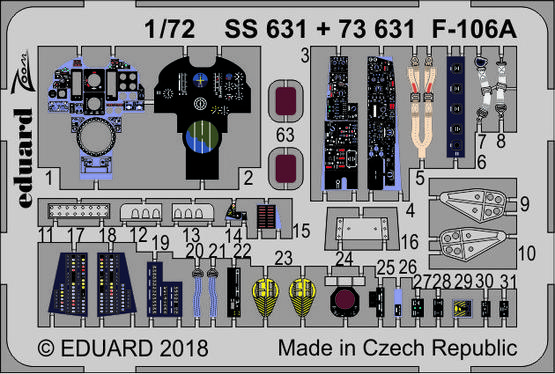 F-106A 1/72