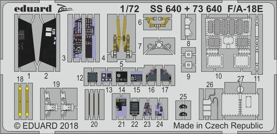 F/A-18E 1/72  - 1
