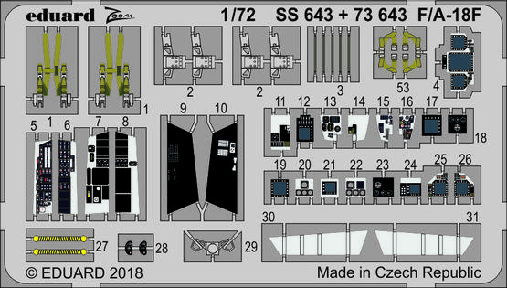 F/A-18F 1/72