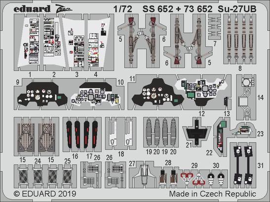 Su-27UB 1/72  - 1