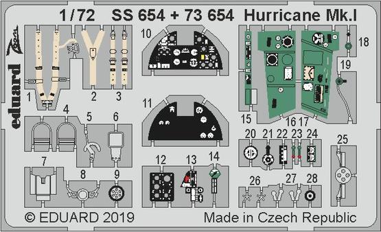 ハリケーン Mk.I 1/72  - 1