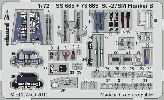 Su-27SM Flanker B 1/72  - 1
