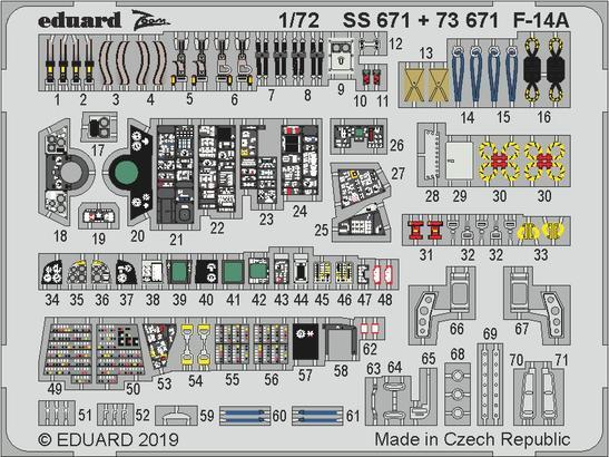 F-14A interior 1/72  - 1
