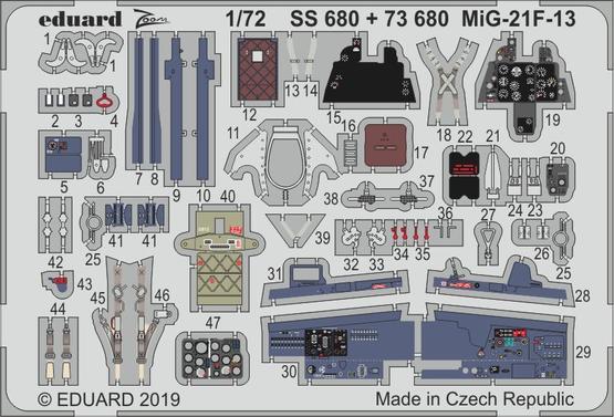 МиГ-21Ф-13 1/72  - 1